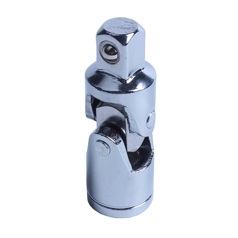 13mm 1/2 pulgadas unidad giratoria Universal Junta aire impacto enchufe plata