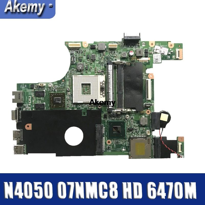 Материнская плата для ноутбука DELL 07NMC8 inspiron 14 N4050 основная плата 7NMC8 HM67 w/HD 6470M 1GB DDR3