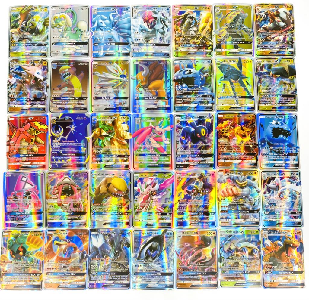 2020 Best Selling Shining Vmax Pokemones Cards Game Battle Carte 60/100/200/300 Pcs GX EX MEGA Trading Children Toy