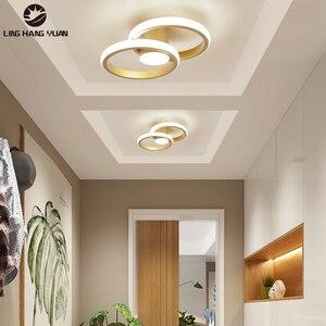 Gold Modern led Chandelier For Living Room Bedroom Home Lighting Fixtures Aisle Corridor Stairs Lights Ceiling Chandelier Lights