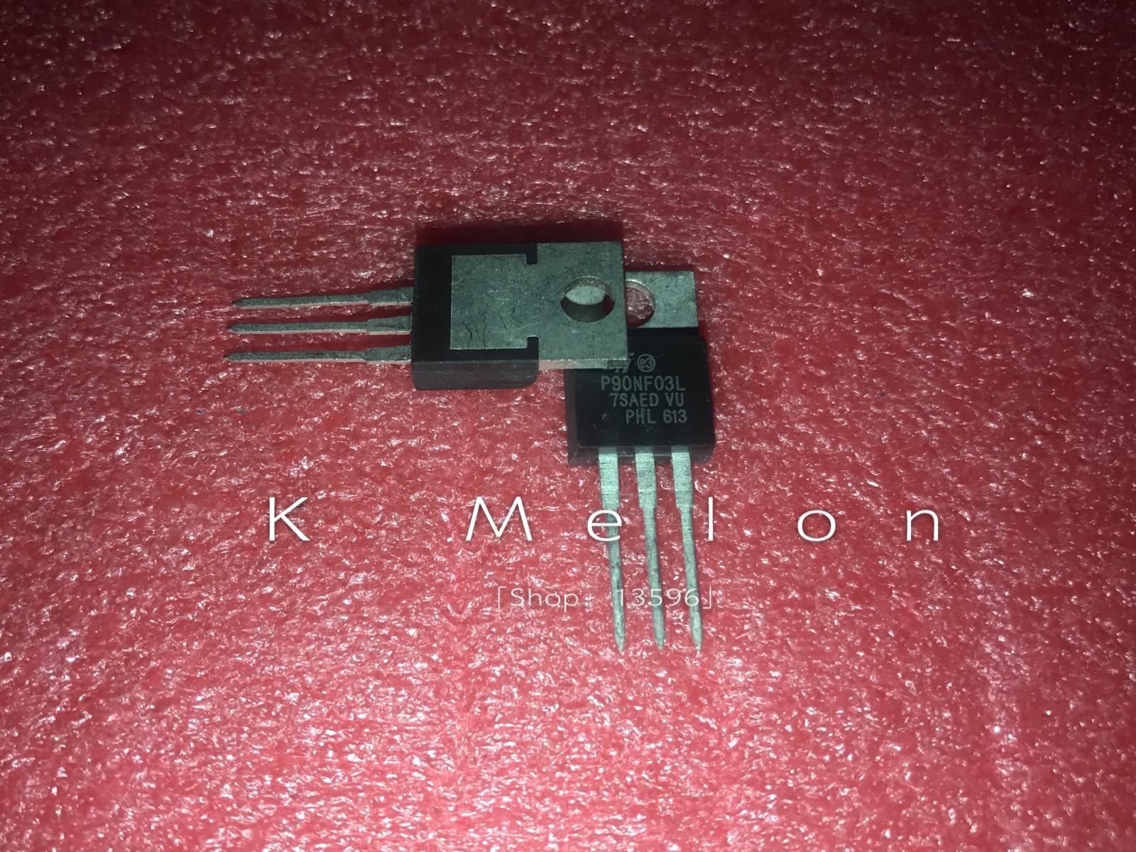 5 sztuk/10 sztuk STP90NF03L STP90NF03 P90NF03L P90NF03 90NF03 TO-220 90A 30V moc mosfet tranzystor