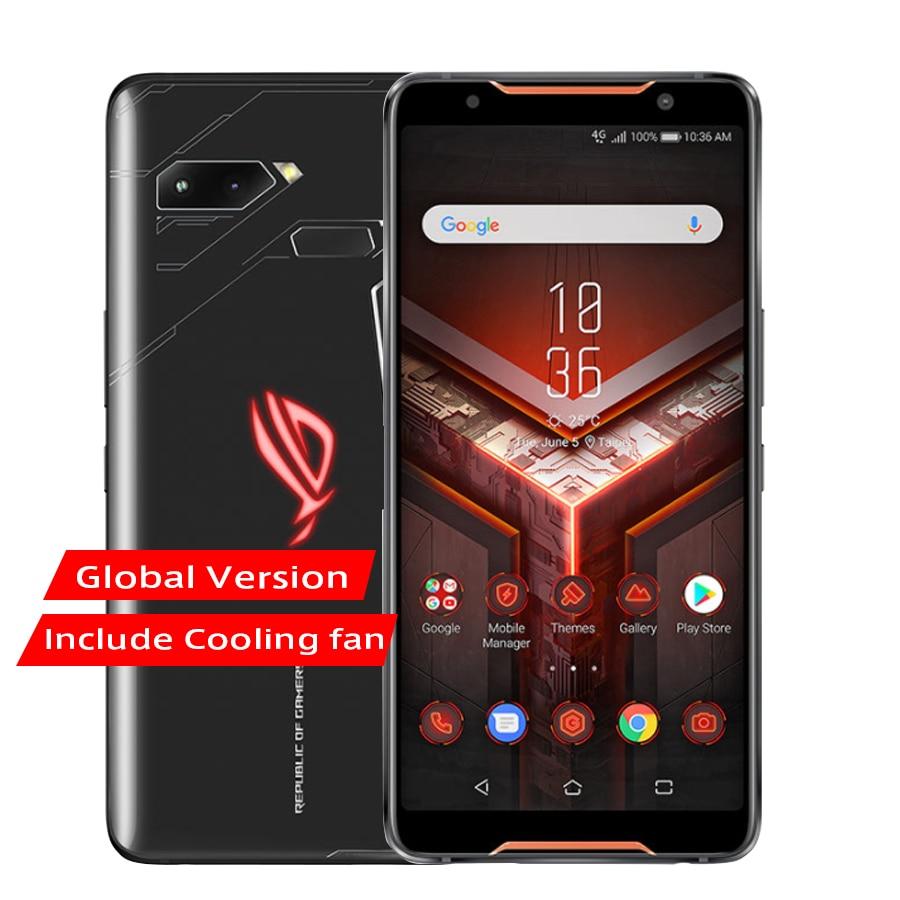 "Globale version ASUS ROG Telefon ZS600KL Telefon 6.0 ""8GB RAM 512GB ROM Snapdragon 845 Octa Core 4000mAh NFC Android 8,1 Telefon"