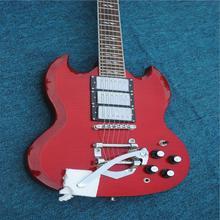 2021 fabriqué en chine 6 cordes guitare électrique, haute qualité SG, livraison gratuite