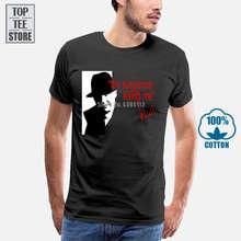 Gedruckt Männer T Shirt Kurzarm Lustige T-shirts Rot Reddington Die Suspense Ist Tötung Me Blacklist T Hemd