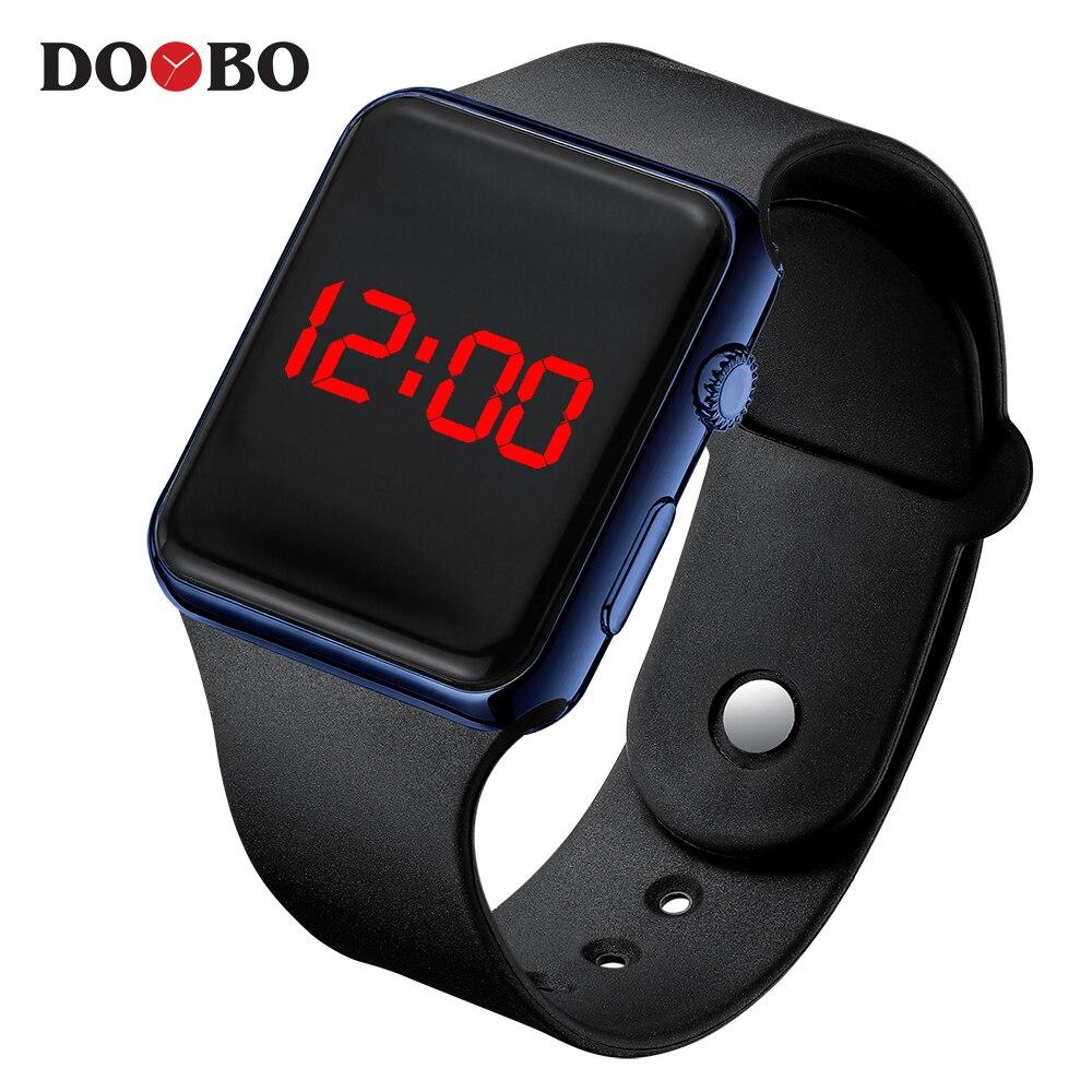 2019 мужские спортивные водонепроницаемые цифровые часы, мужские армейские военные силиконовые наручные часы Hodinky Ceasuri светодиодный часы Relogio Masculino