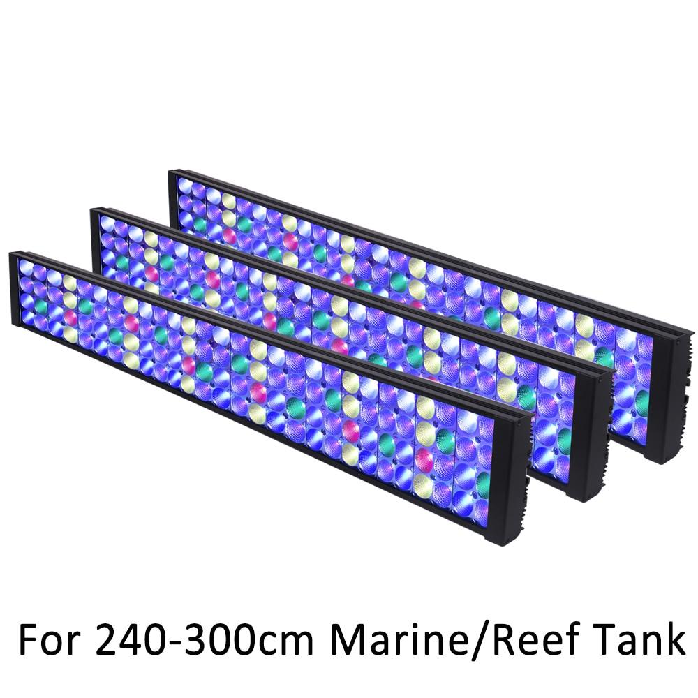 مصباح حوض السمك Led ، ضوء الشعاب المرجانية ، وحدة التحكم الذكية