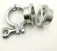 free shipping 3 76mm weld on ferrule tri clamp silicon gasket ss 304