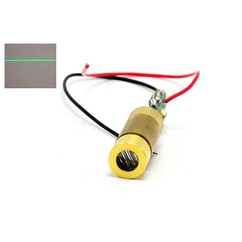 Промышленный 532 нм 20 мВт 1235 мм зеленый лазер диод модуль DC3V-4.2V Lazer Line Unit