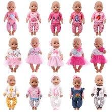 ตุ๊กตาเสื้อผ้าเด็ก Unicorn Kitty ชุดอเมริกัน18นิ้ว & 43ซม.Reborn ทารกเกิดใหม่ตุ๊กตา OG สาวตุ๊กตารัสเซีย DIY ของ...