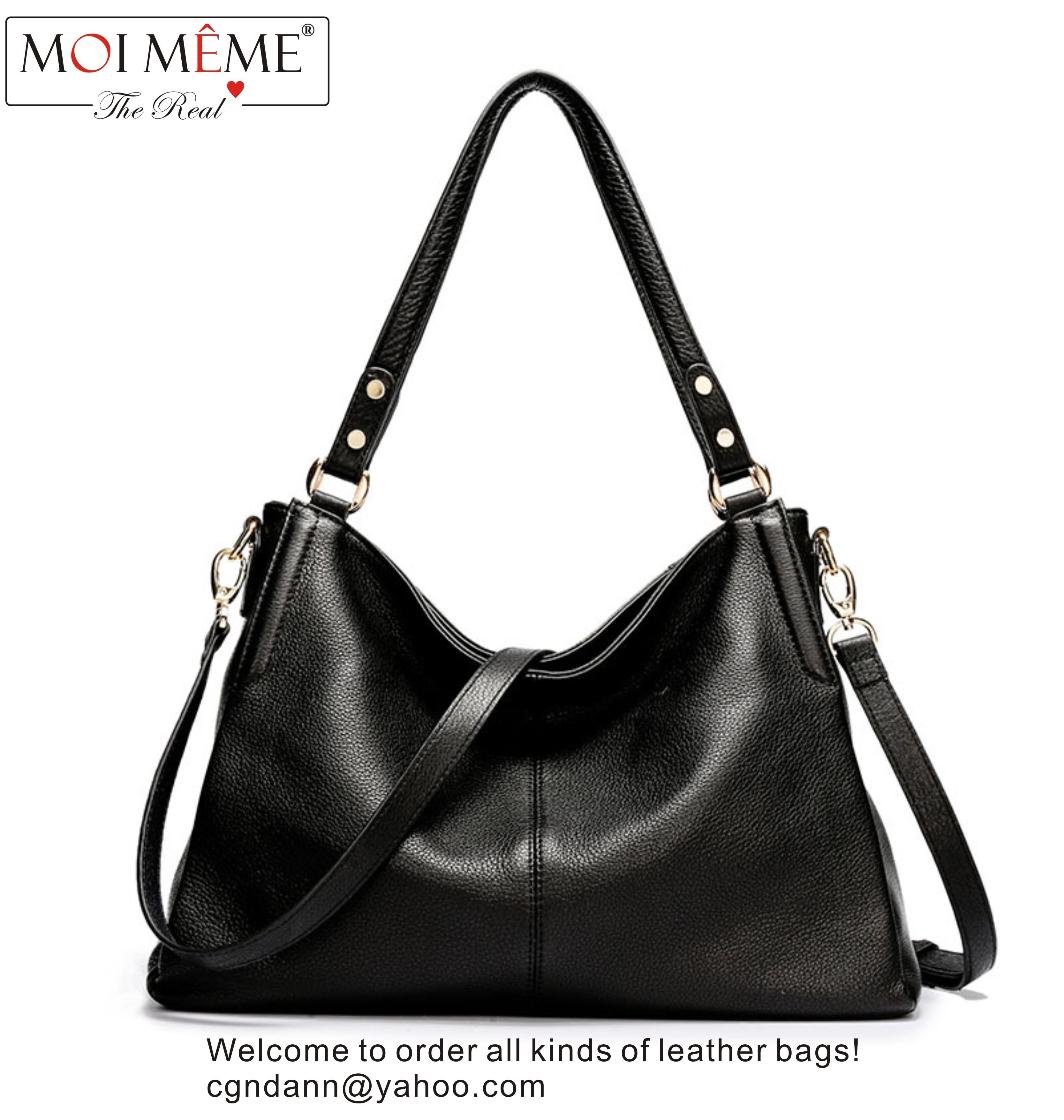 High quality luxury brand design ladies genuine leather handbag large space fashion&classic single shoulder messenger bag