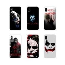 Horror Movie Joker Why So Serious For Samsung Galaxy A3 A5 A7 A9 A8 Star A6 Plus 2018 2015 2016 2017 Transparent Soft Case Cover