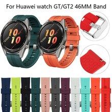 22 millimetri di Sport fascia per huawei orologio GT2/2E banda di Silicone Originale 46 millimetri watch band per Honor Magia 2 46 millimetri orologio GT 22 millimetri cinturino di vigilanza