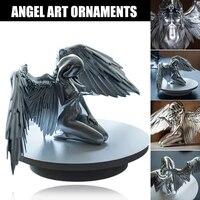 creative sculpture decoration redemption angel statue jewelry redemption statuette religious garden home decoration