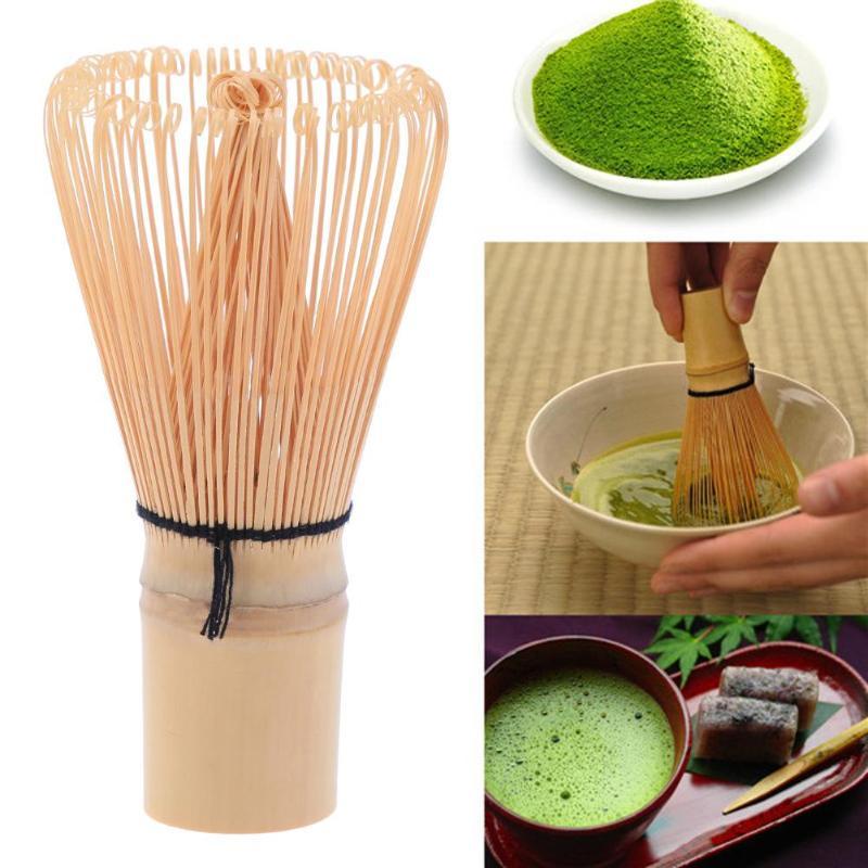 VKTECH 1PC Bamboo Japanese Style Powder Whisk Green Tea Preparing Matcha Brush Useful Brush Tool Kitchen Accessories Hot Sale
