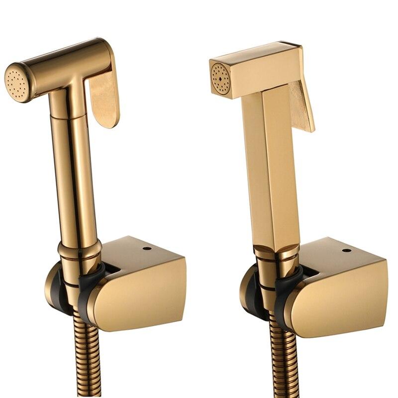 تعزيز! باليد رذاذ بيديه الدوش عدة النحاس بيديه للحمام صنبور دش رئيس المرحاض بيغ
