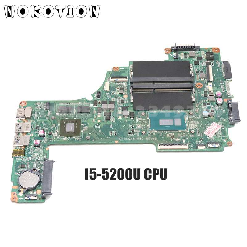 NOKOTION A000388620 DA0BLQMB6E0 الرئيسي مجلس لتوشيبا C55 L50-C C55-C اللوحة المحمول SR23Y I5-5200U وحدة المعالجة المركزية 930M GPU