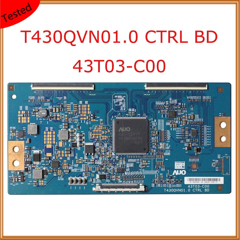 T430qvn01.0 ctrl bd 43t03-c00 para tcl L43E5800A-UD tv t con board equipamentos de exibição placa tv original T-CON placa