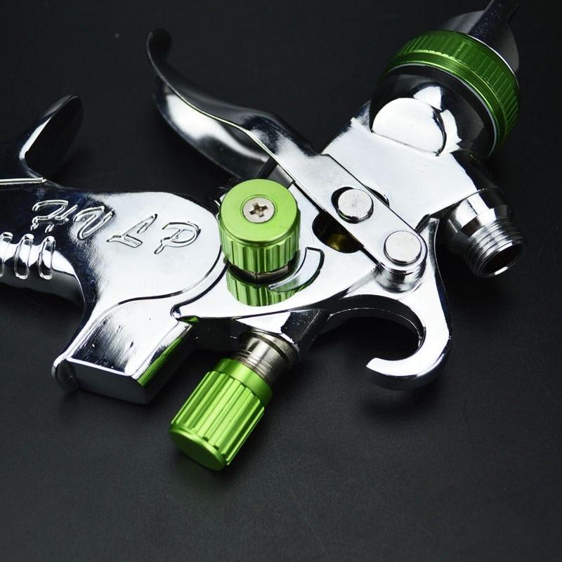 HVLP Spray Gun Kit 1.4mm 1.7mm 2.0mm Steel Nozzle Paint Spray Gun Professional Airbrush Spray Gun for Cars Painting Furnitures