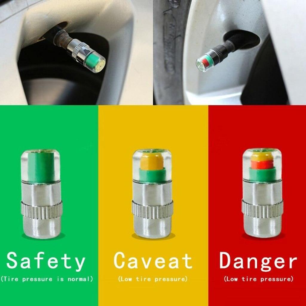 2.4 Bar Car Tire Pressure Monitoring Valve Cap For Peugeot 206 307 406 407 207 208 308 508 2008 3008 4008 6008 301 408
