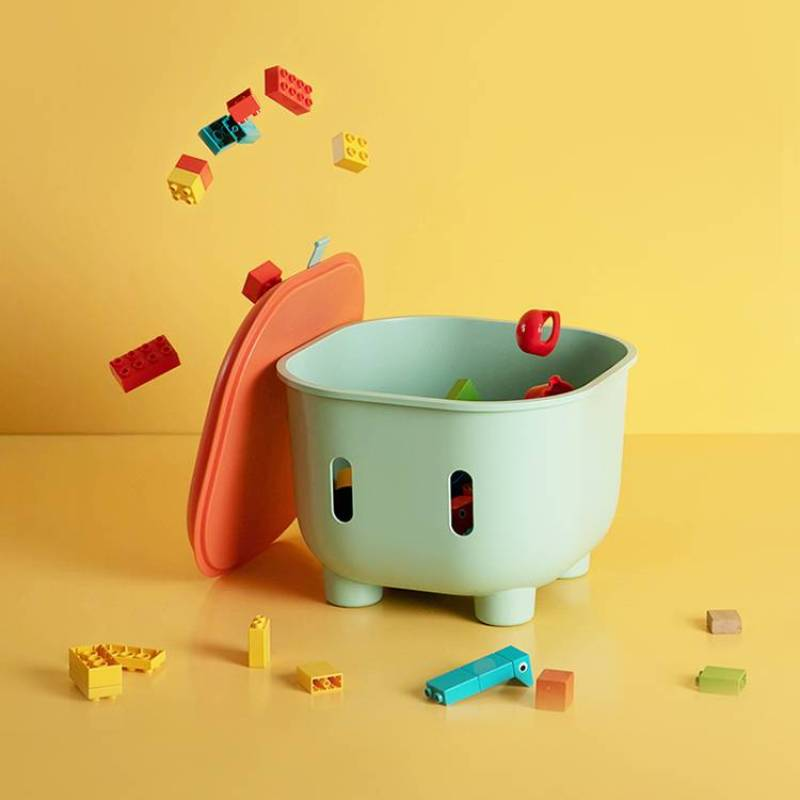 Storage Box Children's Furniture Детская мебель Tabouret Kids Stools Can Sit Snacks Toy Small Plastic Stool Home Creative Cute