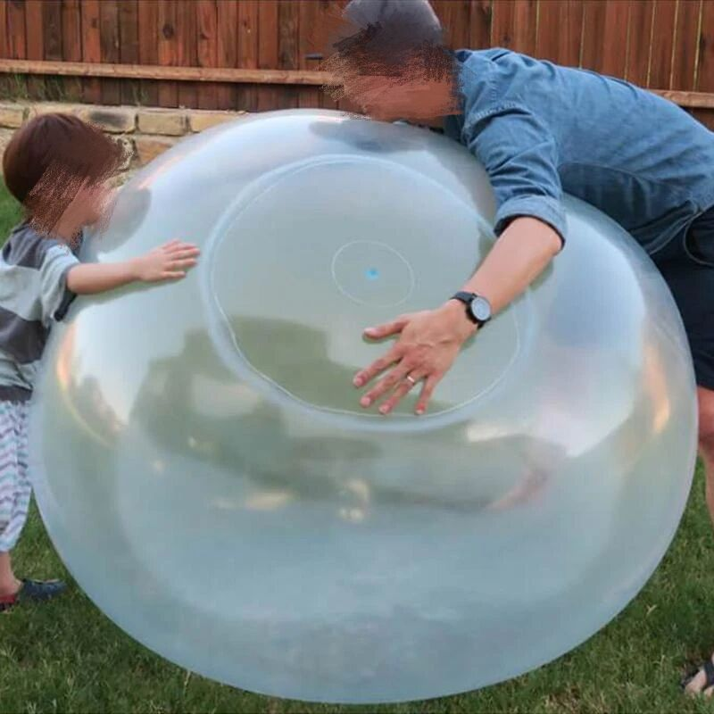 70 CM Bubble Ball for Water Bubble Balloon Inflatable Toy Soft Rubber Ball Oversize Beach Garden Party Outdoor  - buy with discount