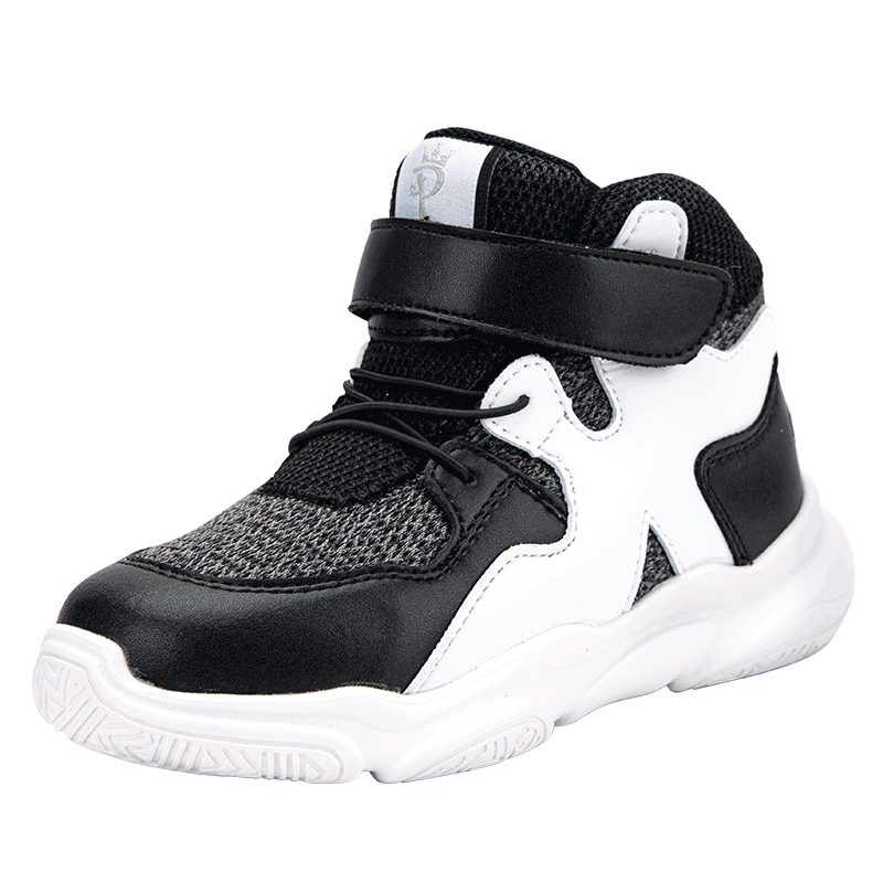 Princepard Orthopedic Shoes Arch Support for Kids Corrective Shoes Toddlers Girls Boys Autumn Children Black White Sneaker enlarge