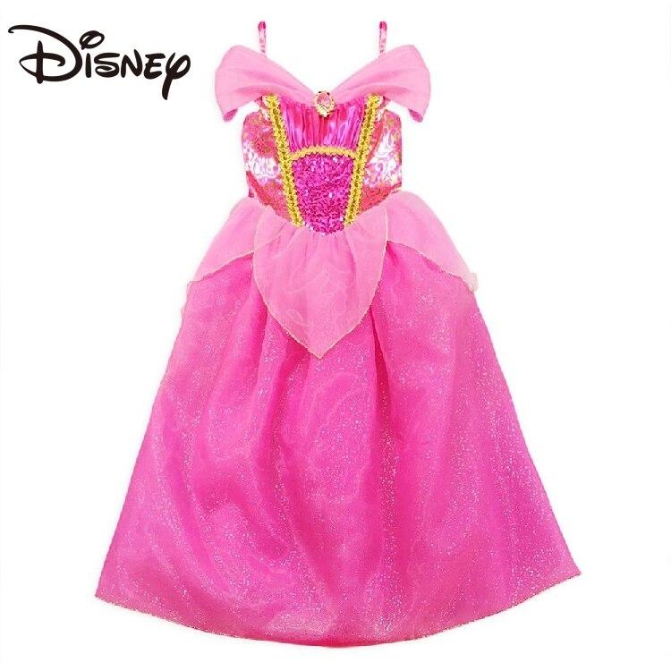 Disney New Sleeping Beauty Princess Dress Stage Performance Dress Large mid length skirt long skirt skirts for women