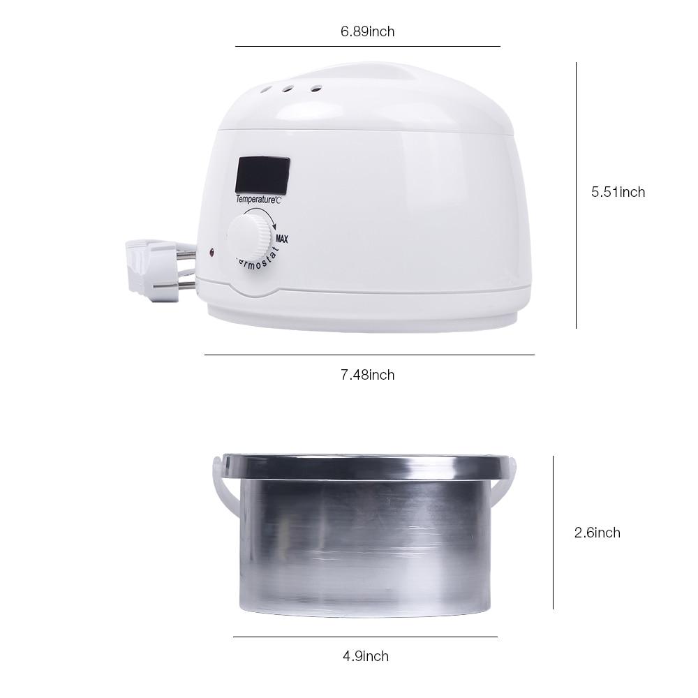 Wax Warmer Waxing Kit Removing Body Depilatory Melting Electric Hands Spa Hair Removal Wax Dipping Wax-melt Wax Machine Pot enlarge