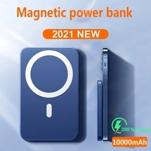 15W Powerbank For magsafe Wireless Power Bank charger For apple iphone 12promax mini 10000mAh Extern