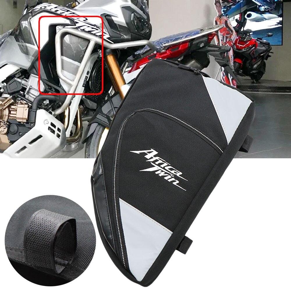 حقيبة وضع الدراجة النارية ، مقاومة للماء ، إطار دراجة نارية ، قضبان إصلاح ، حقيبة ، لهوندا CRF1000L ، أفريقيا ، توأم ، CRF1000L ، مغامرة رياضية