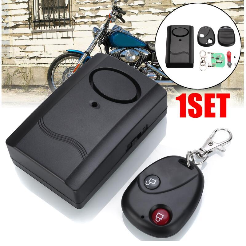 120dB 9V motocicleta remota inalámbrica Moto Scooter antirrobo alarma de seguridad coche puerta ventana Accesorios