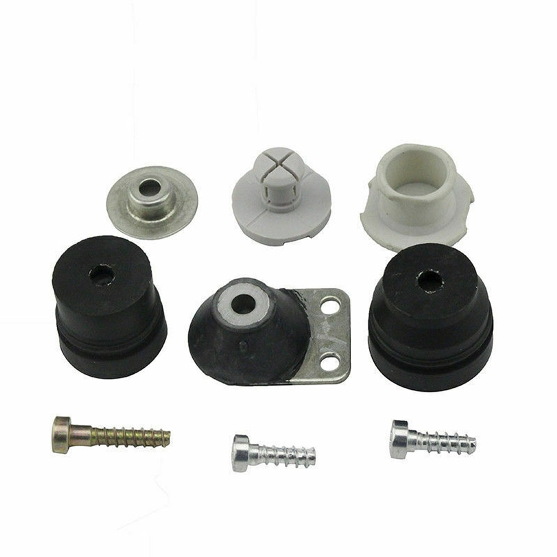 1121 790 9912 anti-vibração buffer conjunto parafuso plug tampa kit de montagem 1121 790 9909 apto para stihl 026 024 ms240 ms260 motosserra