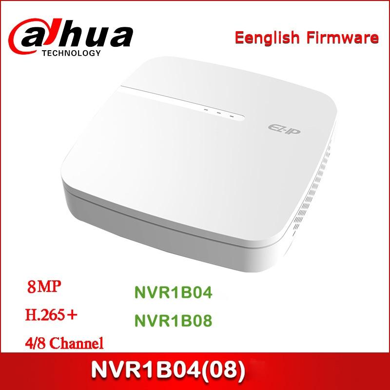 Dahua EZ-IP NVR NVR1B04 NVR1B08 4/8 Channel Smart 1U H.265 Network Video Recorder