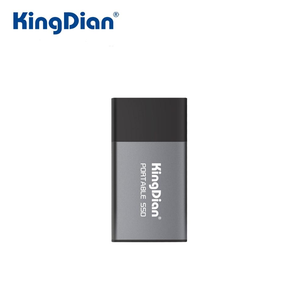 محرك الأقراص الصلبة KingDian المحمول SSD 120GB 250GB 500GB 1 تيرا بايت 2 تيرا بايت محرك الأقراص الصلبة الخارجية للهاتف المحمول