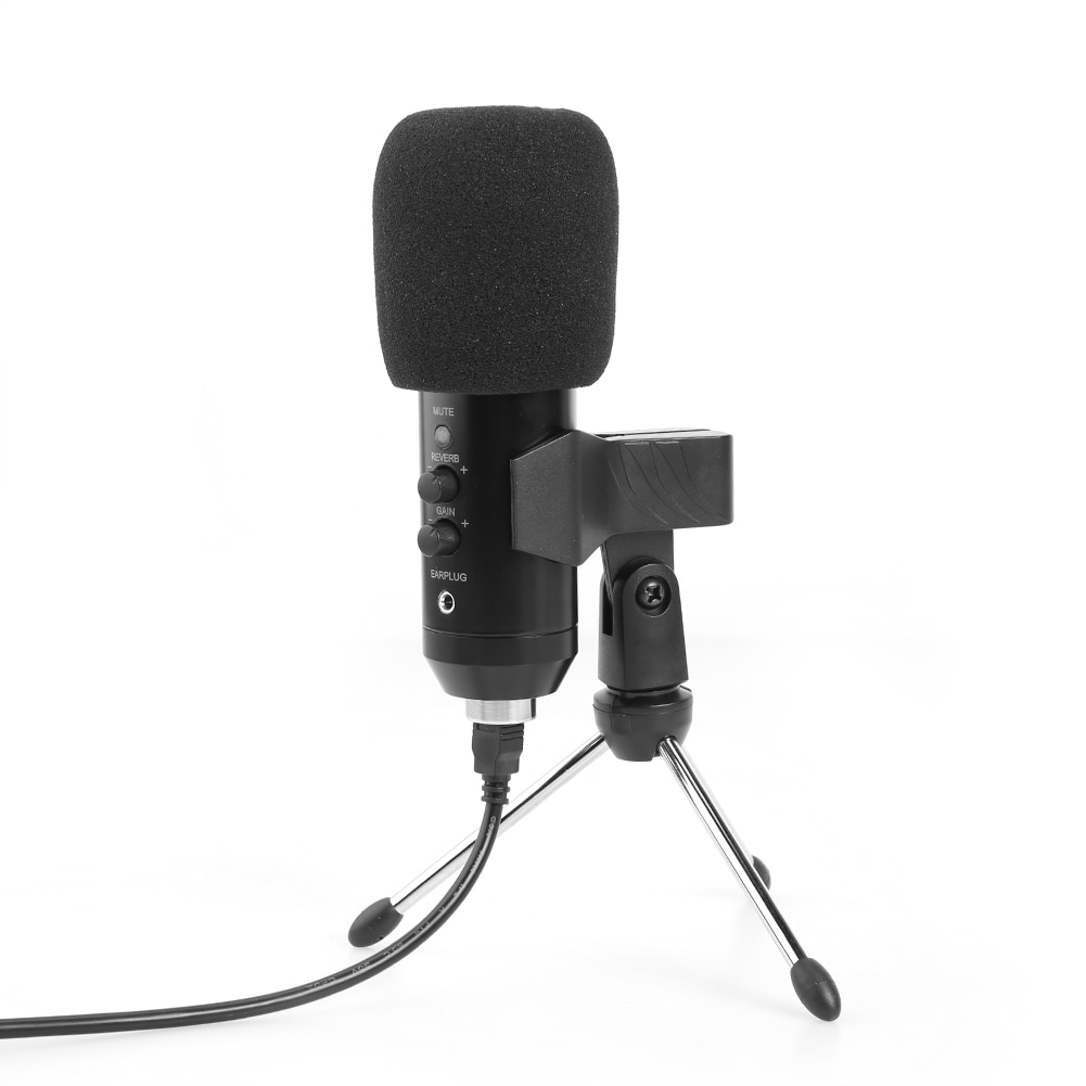 USB Condenser Microphone For Laptop Computer Recording Studio Streaming Karaoke Skype Chatting Podcast Cardioid Speaker Mic enlarge