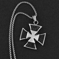 new retro cross shape pendant necklace mens necklace fashion vintage metal sliding cross pendant accessories party jewelry