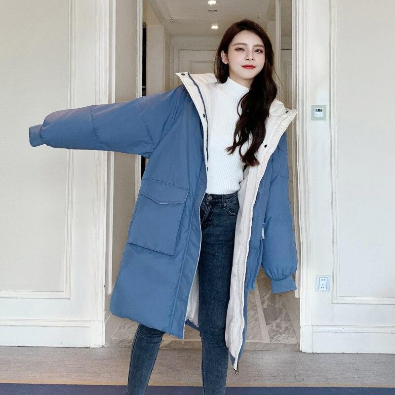 Стеганая куртка женская зимняя стеганая куртка 2021 Новый стиль Женская Стеганая куртка в Корейском стиле свободная стеганая зимняя куртка