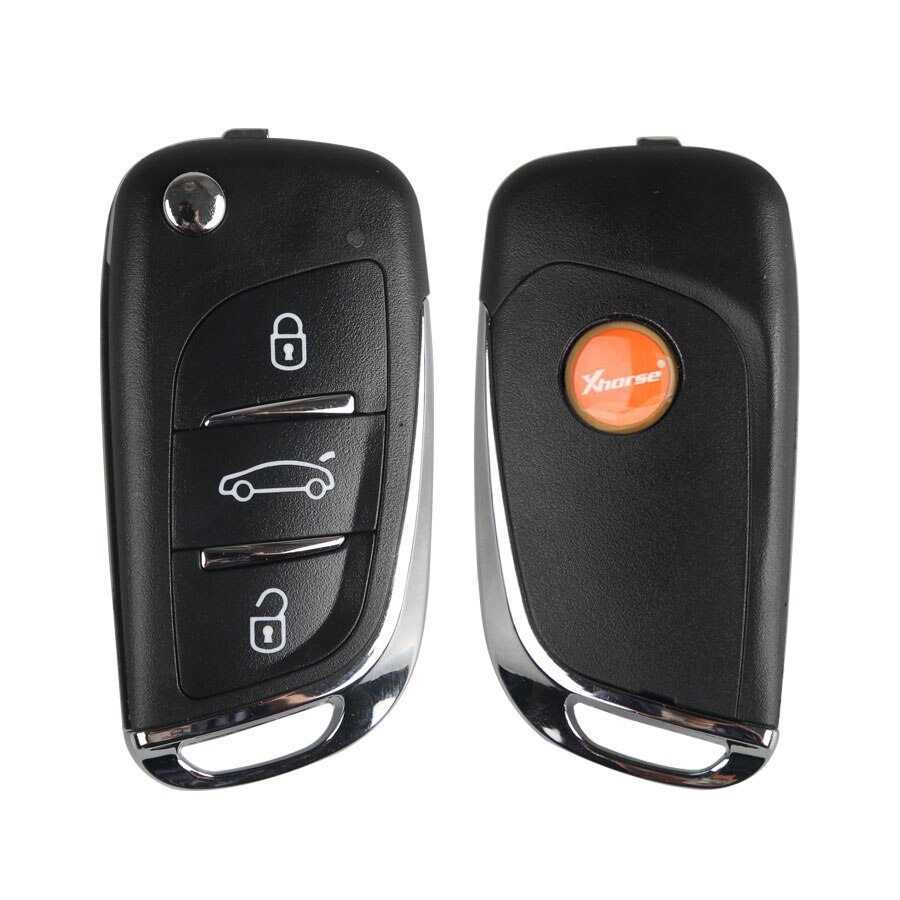 Xhorse xeds01en ds estilo super remoto 3 botões com built-in super chip versão em inglês