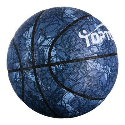 Баскетбольный мяч для взрослых, влагопоглощающий, полиуретановый баскетбольный мяч для соревнований, тренировочный мяч № 7, баскетбольный ...