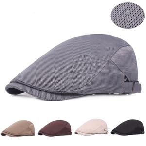 Mesh Berets Men Cowboys Farmer Hat Autumn Sports Golf Caps Novelty Outdoor Fashion Vacation Hats Dropship 2021 Climbing Hat