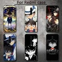 anime detective conan phone case for redmi 5 5plus 6 pro 6a s2 4x go 7a 8a 7 8 9 k20 case