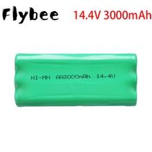 Batterie Rechargeable Robot aspirateur 14.4V 3000mAh pour liberoV-M600/M606 V-botT270/271 etc AA3000mAh Ni-MH Batteries