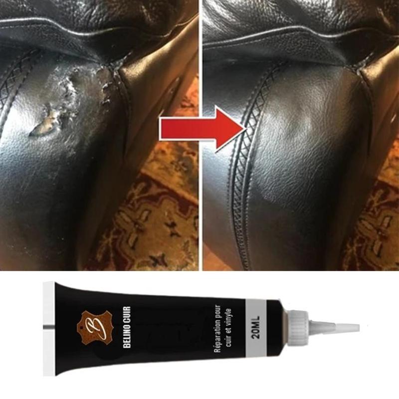 20ml Leather Repair Gel Refurbish Cleaner Repair Cream Advanced Leather Repair Gel Car Seat Instrument Panels Coat Repair Cream