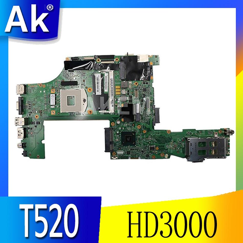 FRU 04W2020 لينوفو ثينك باد T520 اللوحة الأم للكمبيوتر المحمول QM67 HD3000 DDR3