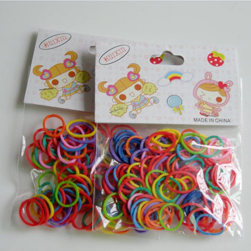 100pcs/Bag Newest Colorful Pet Beauty Supplies Dog Grooming Rubber Band Pet Hair Product Hairpin Hai
