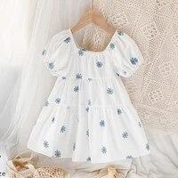 2021 summer baby girls princess dress casual kids dresser for girlsshort sleeve childrens dresses kids dresses for girls