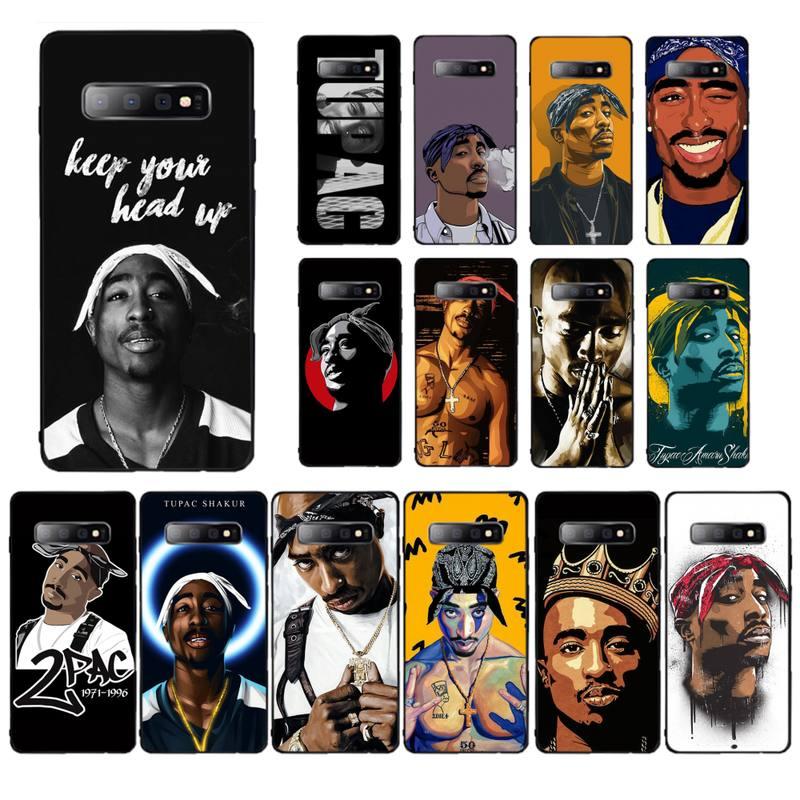 YNDFCNB Yinuoda Rapper 2pac Tupac Telefon Fall für Samsung S5 6 7 rand 8 9 10 20 plus lite fall