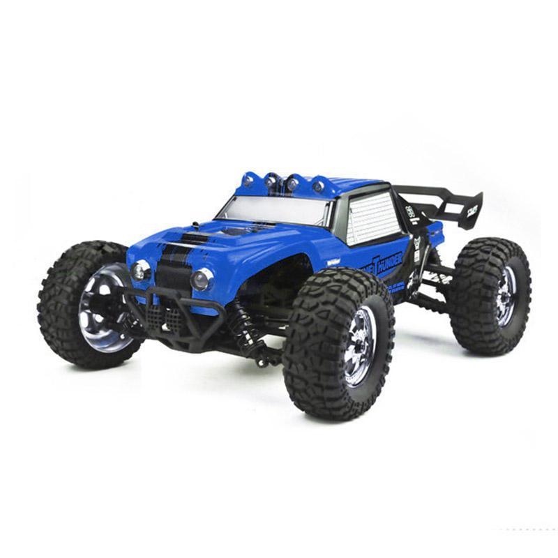 LeadingStar HBX 12891 1/12 4WD 2.4G Waterproof Hydraulic Damper RC Desert Buggy Truck with LED Light