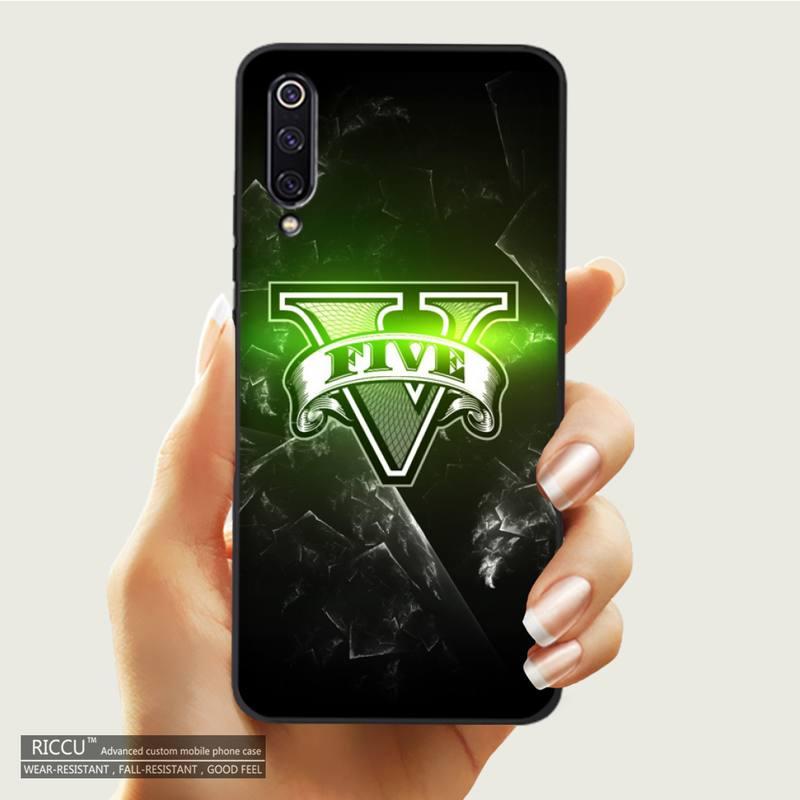 Rockstar gta 5 Grand Phone Case For Xiaomi mi 10 11 9 8 lite pro MAX2 3 2s note3 mix2s 6 6plus 6X F1 phone case