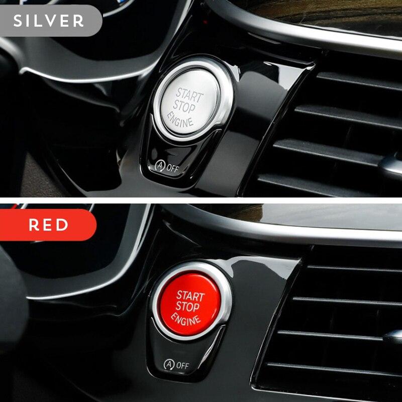 Для BMW G38 G30 G08 G01 5 Series X3 Chrome ABS мультимедийные крышки кнопок для запуска двигателя, боковые наклейки, органайзеры для стайлинга автомобиля